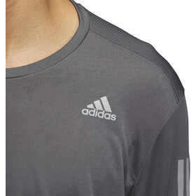 adidas Own The Run LS Tee Men grey six